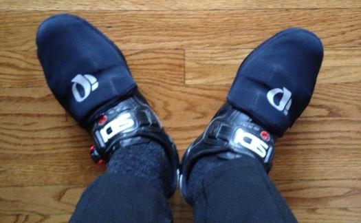 Pearl Izumi thermal toe covers