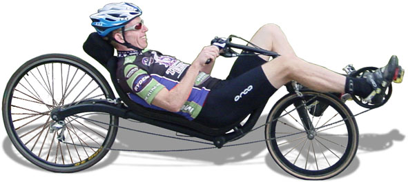 And you get a recumbent bike