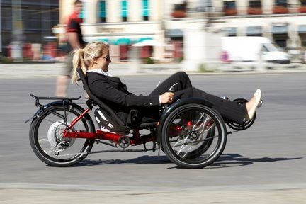 And you get a recumbent trike